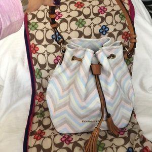 Dooney & Bourke Multi-color Bucket Bag